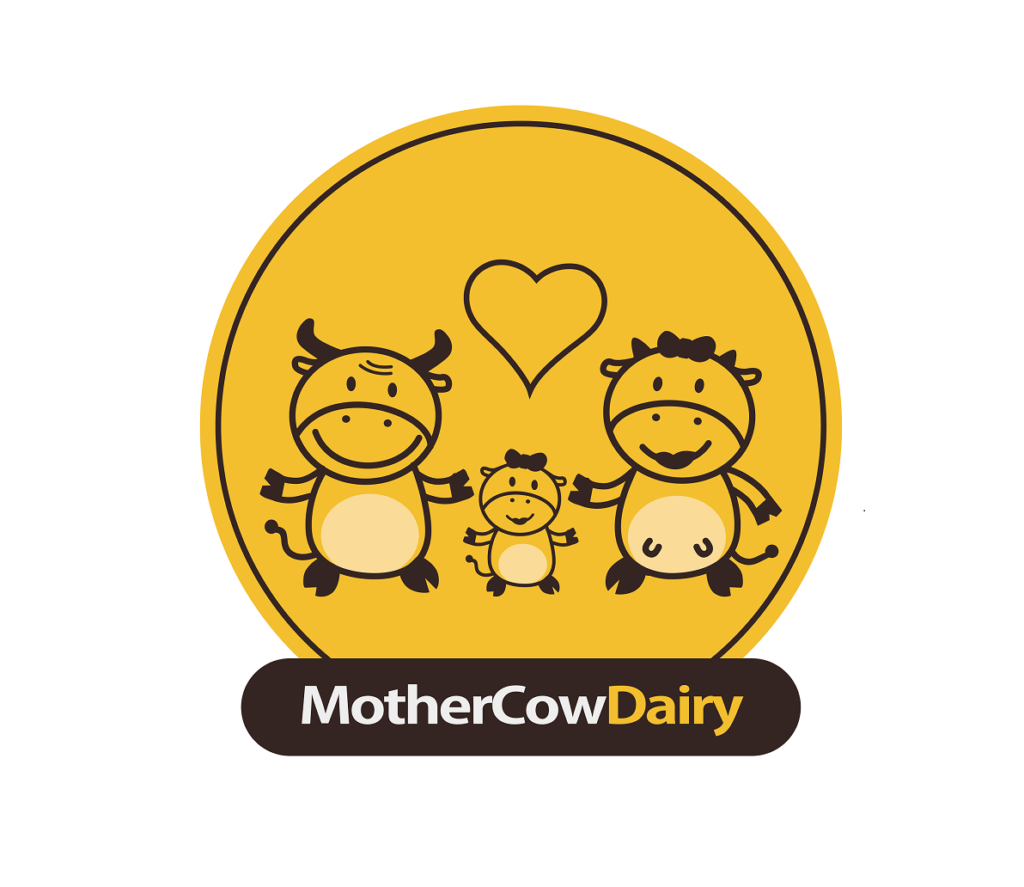 mother cow dairy client logo