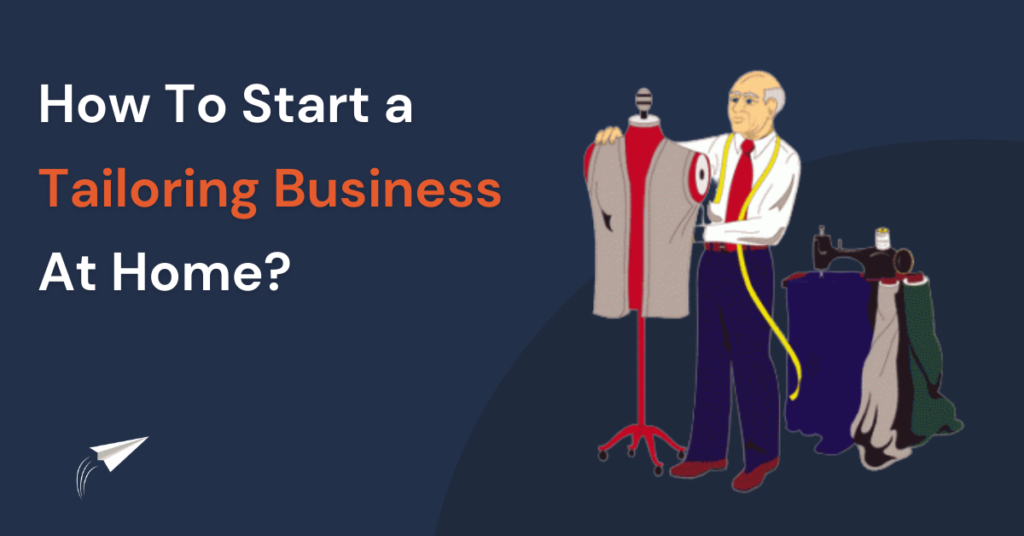 How to start a tailoring business at home