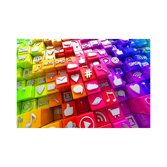 promote a business through social media