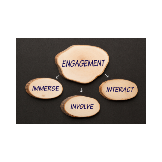 engage with your audience and promote